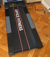 desk treadmill, office fitness, keep fit at work