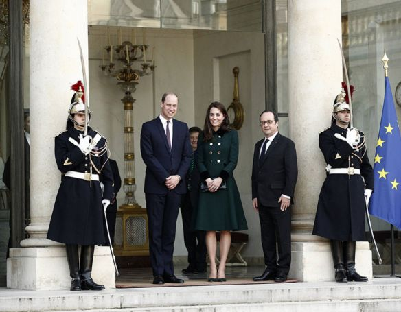 Francois, William and Kate