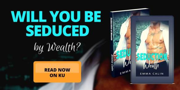 Banner for Seduction of Wealth by Emma Calin