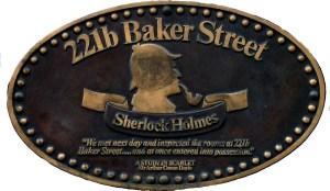 baker street plaque
